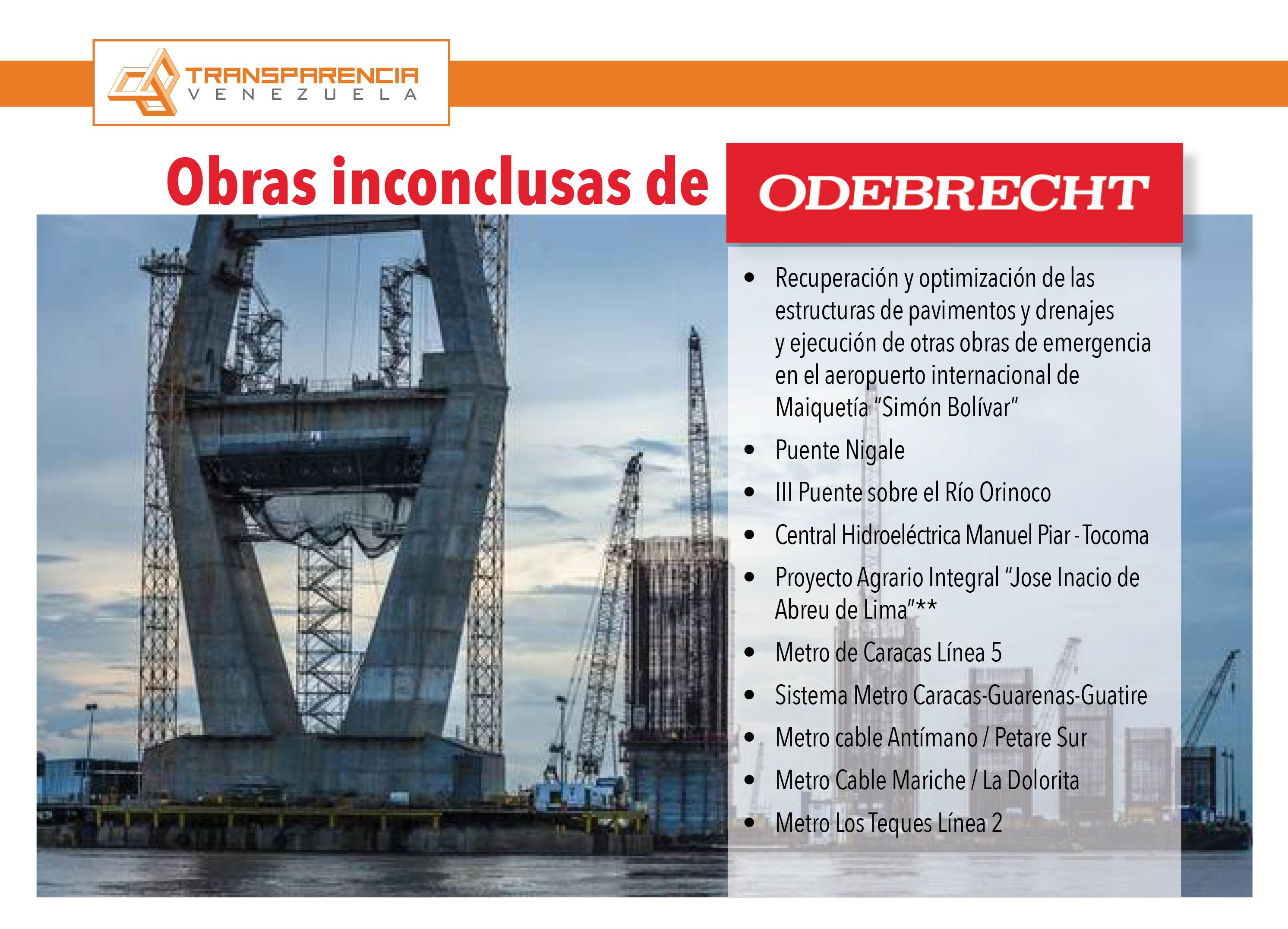 El Gobierno debe reasignar las obras de Odebrecht mediante ...