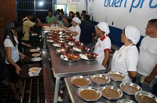 Inició servicio del comedor del NURR   Prensa ULA