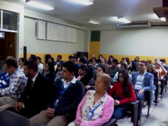 Público constituido mayormente por profesores ULA Táchira